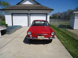 1967 Fiat 850 coupe nose