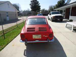 1967 Fiat 850 coupe rear