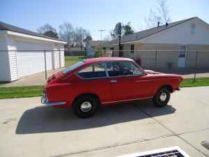 1967 Fiat 850 coupe right