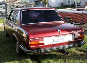 1972 BMW Bavaria rear
