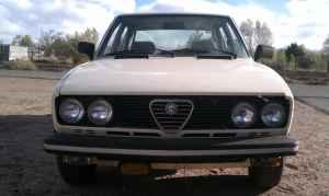 1978 Alfa Romeo Sport Sedan front