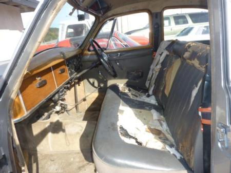 1957 Rover P4 90 interior