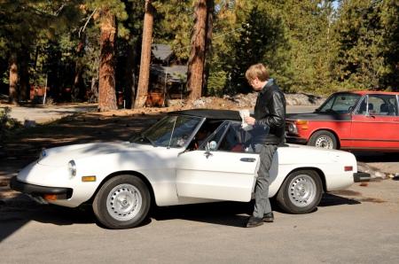 1977 Alfa Spider, Snowball 2011