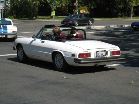 1977 Alfa Romeo Spider at Snowball