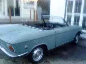1969 Peugeot 204 C rear