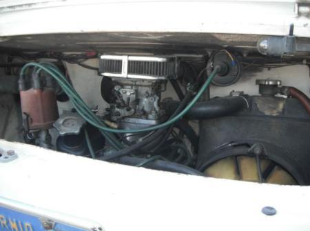 1971 Fiat 850 sedan engine