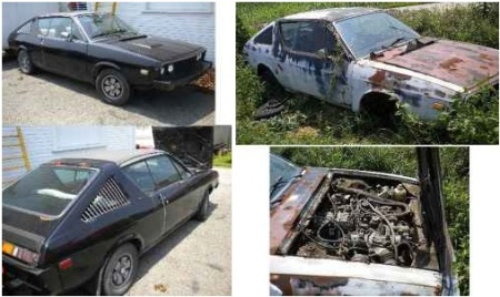 1979 Renault 17 Gordini plus parts car