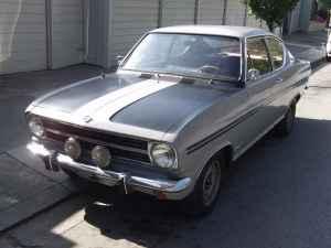 1967 Opel Kadett Rallye left