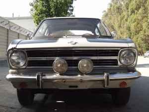 1967 Opel Kadett Rallye nose