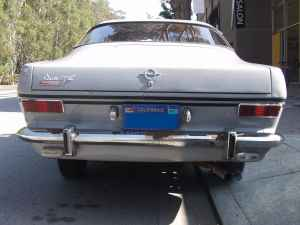 1967 Opel Kadett Rallye tail