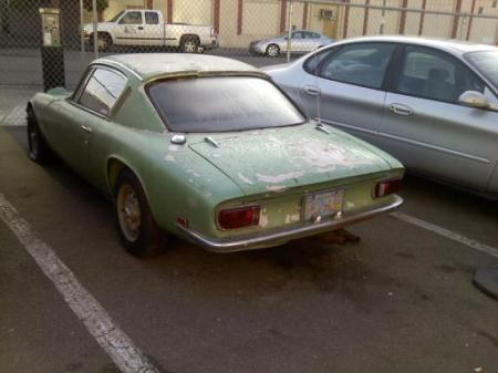 1970 Lotus Elan Plus 2 rear