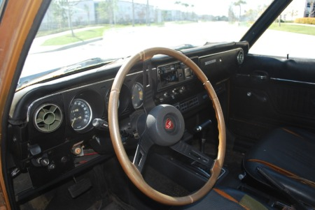 1973 Mazda RX2 sedan interior