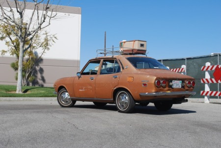 1973 Mazda RX2 left rear