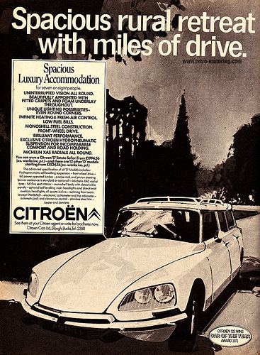 Citroen DS Safari advertisement