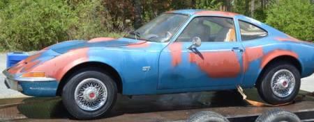 1970 Opel GT left front