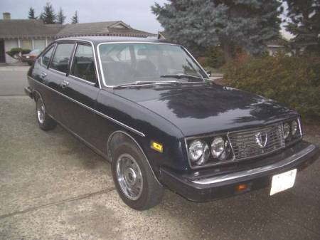 1975 Lancia Beta sedan right front