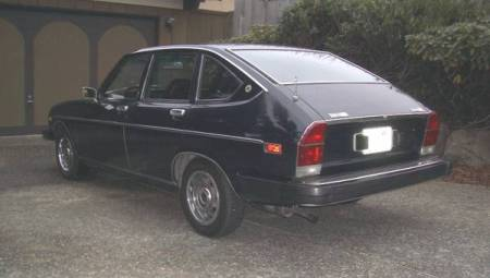1975 Lancia Beta sedan rear left