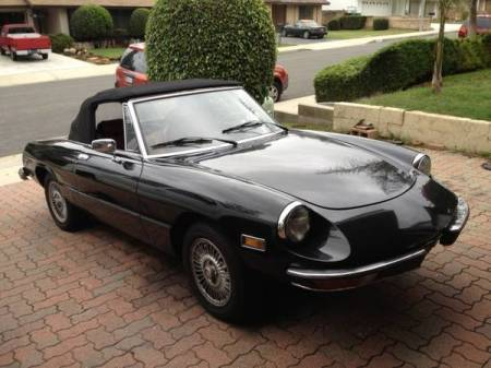 1978 Alfa Romeo Spider right front