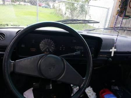 1978 VW Rabbit dash
