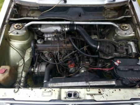 1978 VW Rabbit engine