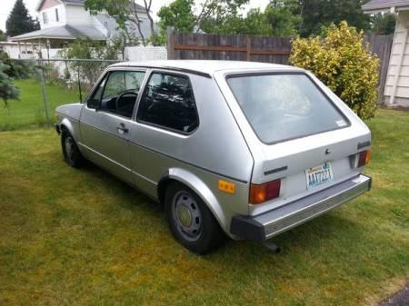1978 VW Rabbit left rear