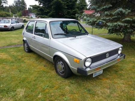 1978 VW Rabbit right front