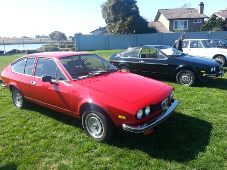 1979 Alfa Romeo Alfetta GT right front