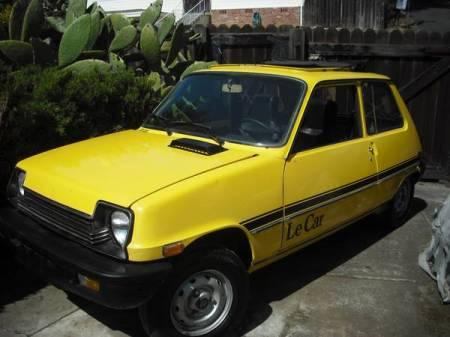 1979 Renault LeCar front left