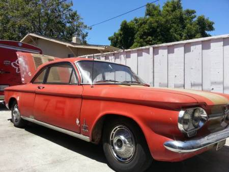 1962 Chevrolet Corvair Monza Turbo right front