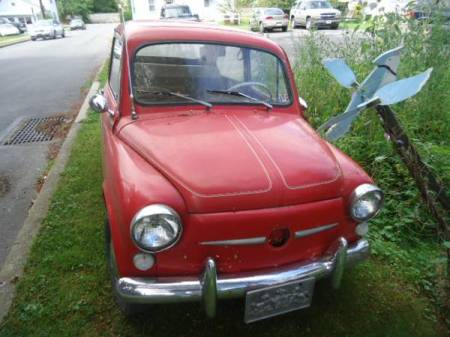 1967 Fiat 600 front