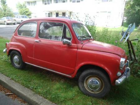 1967 Fiat 600 right front