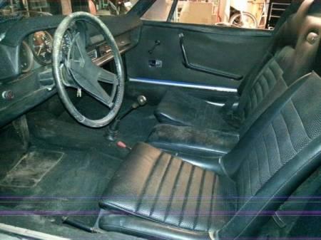 1970 Porsche 914 interior