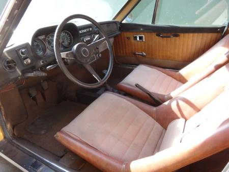 1973 Saab Sonett III interior