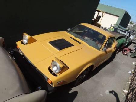 1973 Saab Sonett III left front