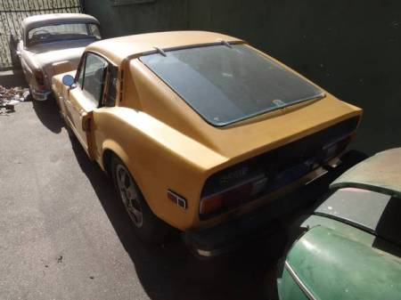 1973 Saab Sonett III left rear