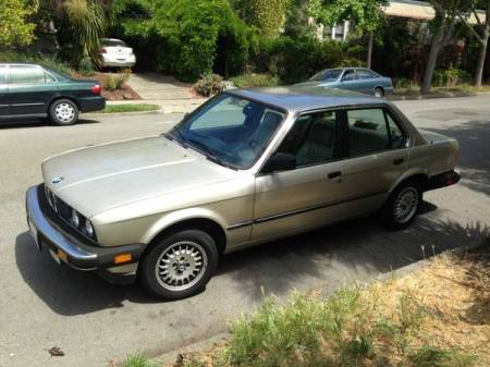 1985 BMW 325e left front
