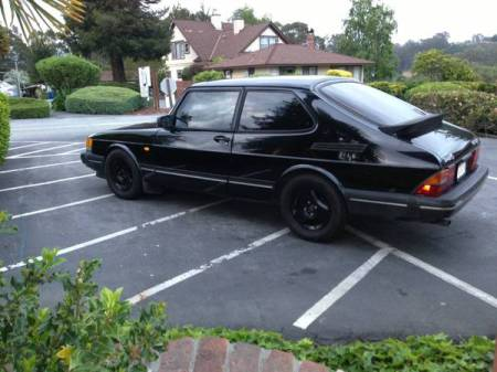 1991 Saab 900 turbo left rear