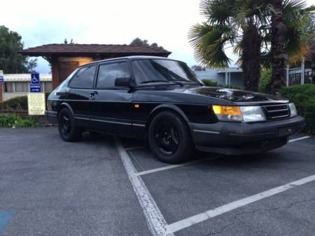 1991 Saab 900 turbo right front