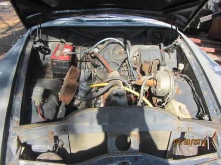1966 Volvo 122 wagon engine