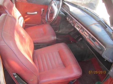 1966 Volvo 122 wagon interior