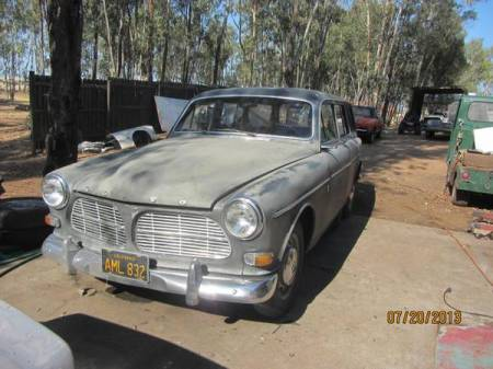 1966 Volvo 122 wagon left front