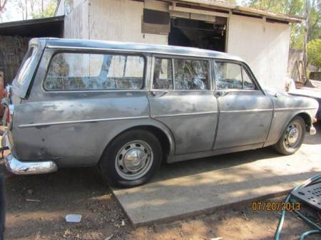 1966 Volvo 122 wagon right rear