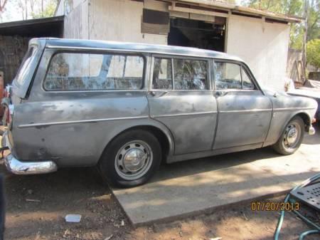 1966 Volvo 122 wagon right rear