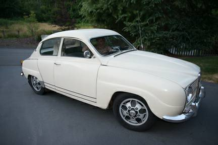 1968 Saab 96 right front
