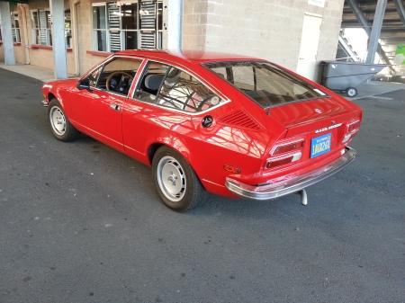 1979 Alfa Romeo Alfetta GT cooling off