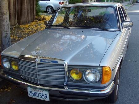 1981 Mercedes 280E left front