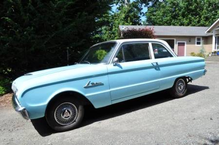 1962 Ford Falcon left front