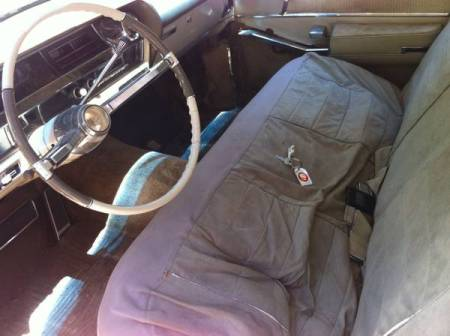 1964 Cadillac Sedan deVille interior