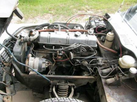 1972 Triumph GT6 Mark III engine