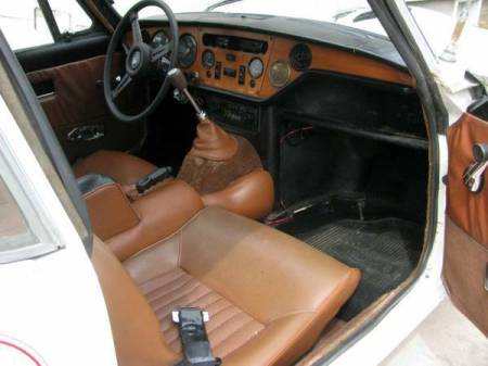 1972 Triumph GT6 Mark III interior